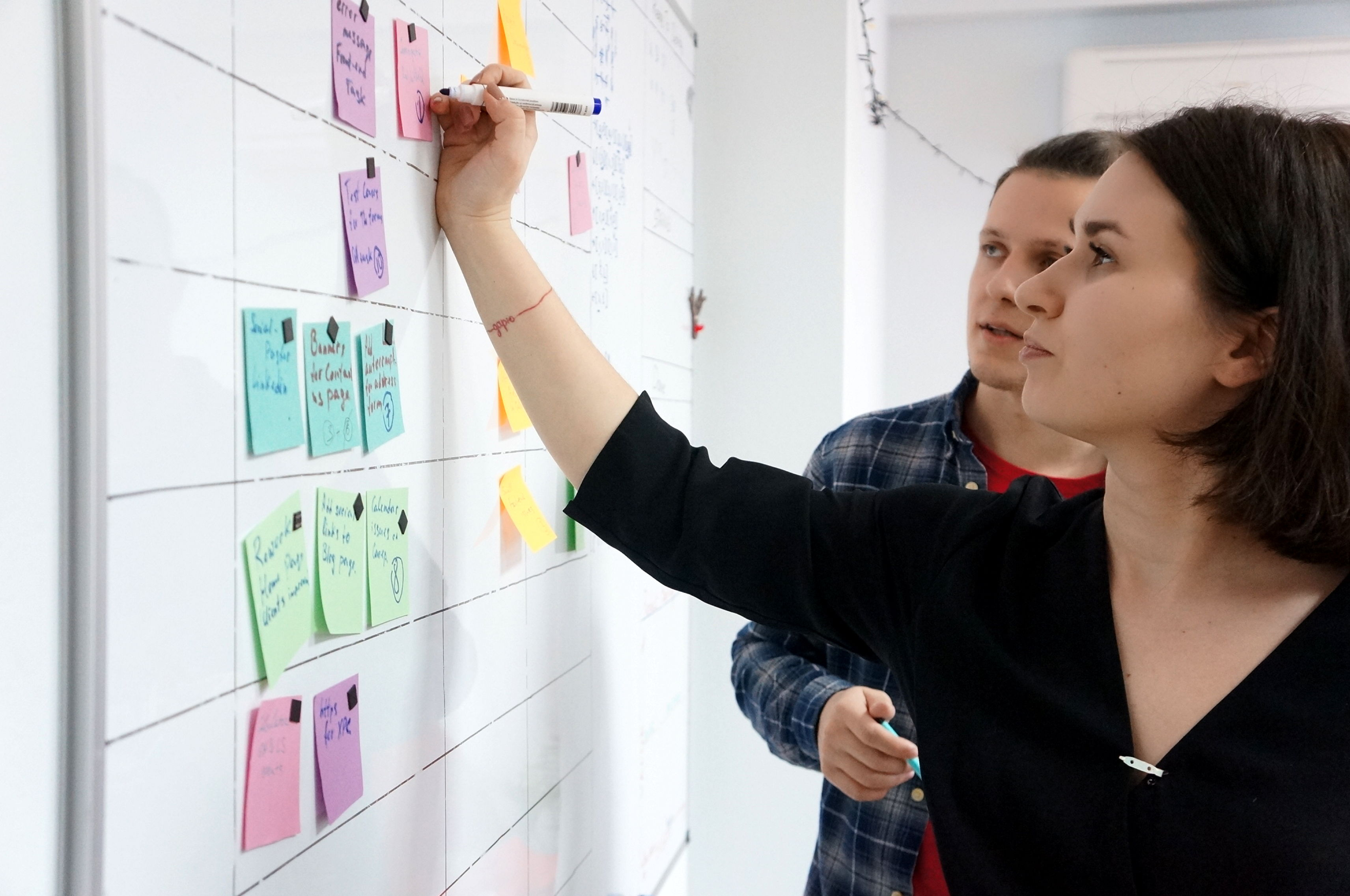 How to estimate better: Scrum board with tickets | Codica